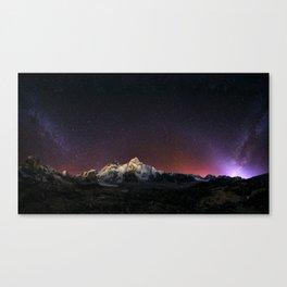 Everest Nightscape Canvas Print