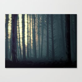 Waldeinsamkeit Canvas Print