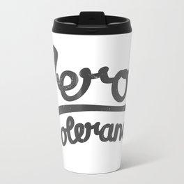 Zero Tolerance Travel Mug