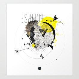 Lunar Eclipse Art Print