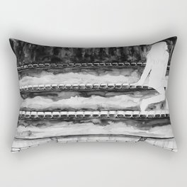 Empty Bodies Rectangular Pillow