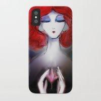 zen iPhone & iPod Cases featuring Zen by Jaleesa McLean