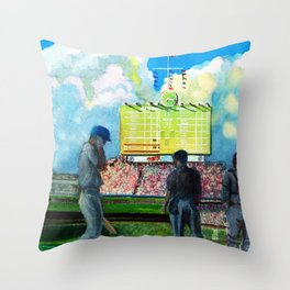 North-side Daydream Throw Pillow