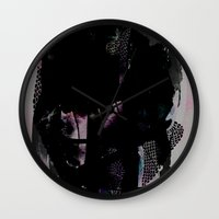 tangled Wall Clocks featuring Tangled by Georgiana Paraschiv