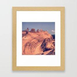Arch Bowl: Moab, Utah Framed Art Print