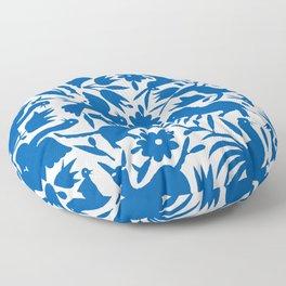 otomi blue Floor Pillow