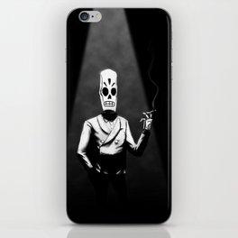 Manny Calavera iPhone Skin