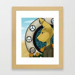 Jovi Framed Art Print