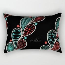 paisely Rectangular Pillow