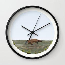 Platypus (Ornithorhynchus anatinus) Wall Clock