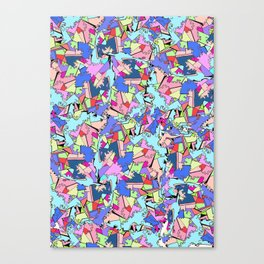 Chaotic Dreams -Duriima Bayarjargal Canvas Print
