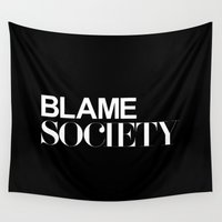 quote Wall Tapestries featuring Quote by Quotes
