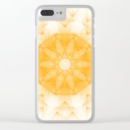 Sacral Clear iPhone Case