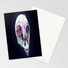 Pastel Skull Stationery Cards