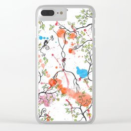 GOOD MORNING by mrs Wilkes Clear iPhone Case