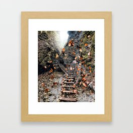 Infinite beautiful Jungle Framed Art Print