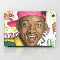 fresh prince iPad Cases featuring Fresh Prince of Bel Air - Will Smith by Heather Buchanan