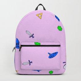Legend of Zelda Pastel Print Backpack