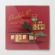DOUBLE R DINER Metal Print