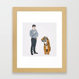 Thomas & Kip Framed Art Print