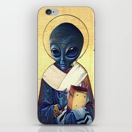 St. Alien iPhone Skin