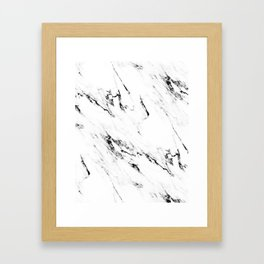 Classic Marble Framed Art Print