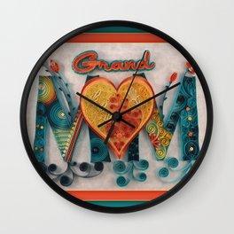 GrandMOM Wall Clock