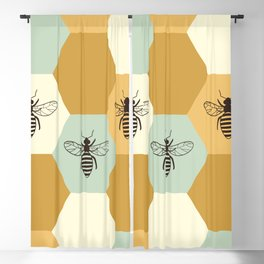Beehive Blackout Curtain