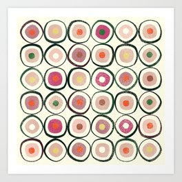 Sushi (That's How He Rolls) Art Print