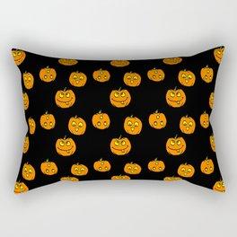 Silly Pumpkins Rectangular Pillow