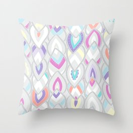 PINKLEAVES Throw Pillow