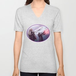 The Savior and the Evil Queen Unisex V-Neck