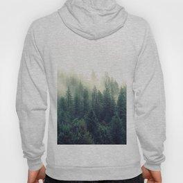 Foggy Winter Forest Hoody