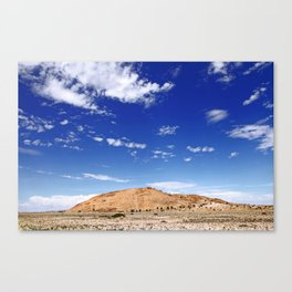 Wideness of Namibia Canvas Print