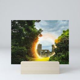 Magical Portal to Stonehenge Mini Art Print