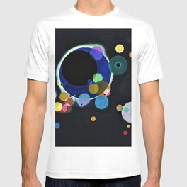 Planets & Moons (Several Circles) by Wassily Kandinsky T-shirt