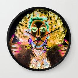 Ru Paul Drag Race Queen Thunderfuck Wall Clock
