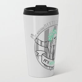Beetle Juice [Betelgeuse, Michael Keaton, Tim Burton] Travel Mug