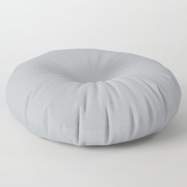 Best Seller Ultra Pale Grey Solid Color Parable to Jolie Paints French Grey - Shade - Hue - Colour Floor Pillow