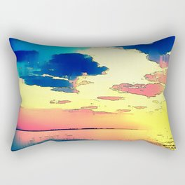 Heaven or Lies - ILL Design - Roth Gagliano Photography Rectangular Pillow