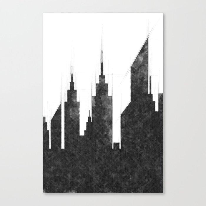 modern city buildings and skyscrapers sketch new york skyline wall rh society6 com deco new york chambre ado decor new york aquarium