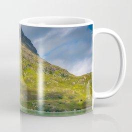 Peaks in the cloud Coffee Mug