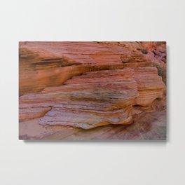 Colorful Sandstone, Valley of Fire - IIa Metal Print