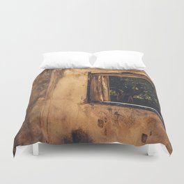 Decay and perspective Duvet Cover