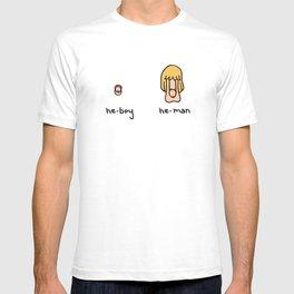 Becoming a He-Man T-shirt