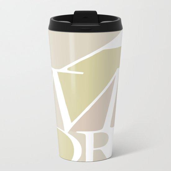Amore II Metal Travel Mug