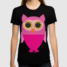 Lovely Cartoon Sowa T-shirt