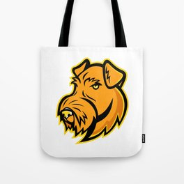 Airedale Terrier Dog Mascot Tote Bag