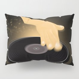Dj Scratch Pillow Sham