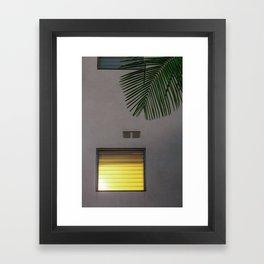 Golden Hour in Hollywood Framed Art Print